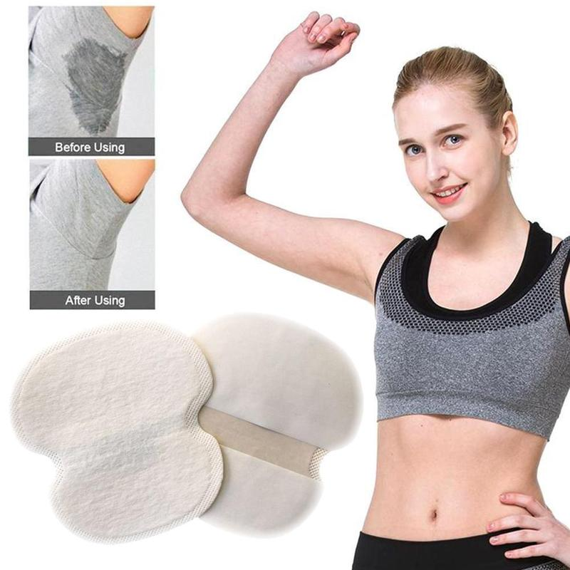 12PCS Disposable Absorbing Underarm Sweat Guard Pads Dress Clothing Shield Deodorant Armpit Sheet Sweat Perspiration Pads