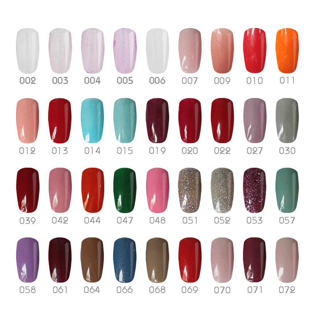Gelike 36 Colors Lasting High Gloss Finish Set Dipping Powder System ...