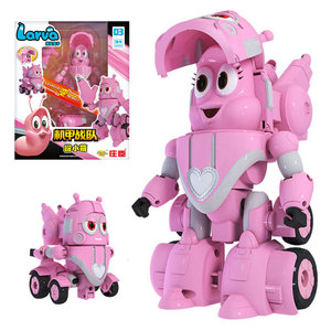 Image 4 - High Quality ABS Fun Larva Transformation Toys Action Figures Deformation Car Mode and Mecha Mode for Birthday Gift
