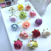 5 unids ramillete de boda flores seda artificial decoracion simulacion diy reuniones familiares
