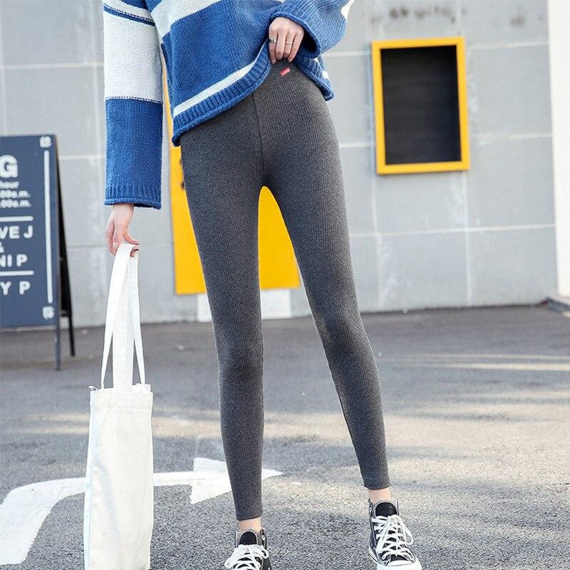 Di alta qualità Delle Donne leggings Inverno Caldo leggings a vita alta pantaloni di lunghezza della caviglia leggings 8U01