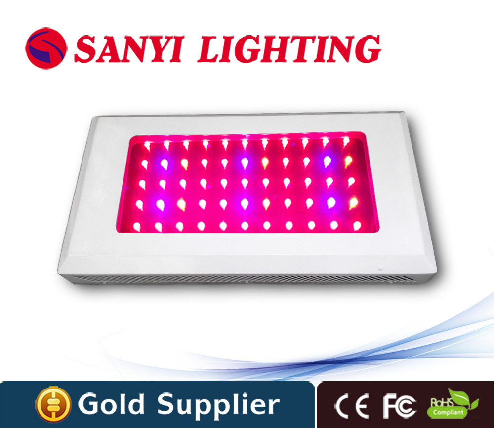 Agriculture grow light 165w 55pcs leds 3w chip red blue plant gorwth plant light for indoor 80*80*180cm grow tent