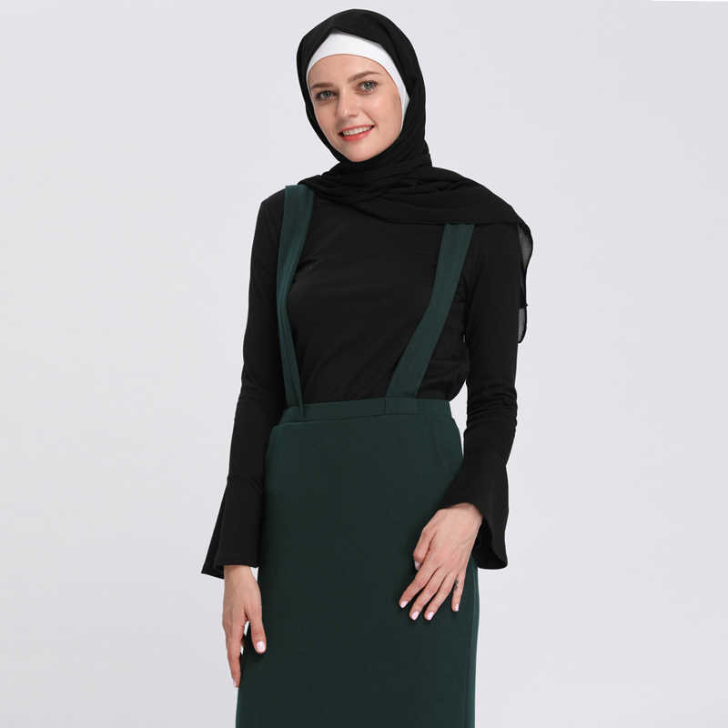 96d32e5df5132 Turkey Islamic Clothing 2019 Spring Saudi Arabic Abaya Islam Muslim Hijab  Long Sleeve Top Women Tops Dubai Ropa Musulmana Mujer