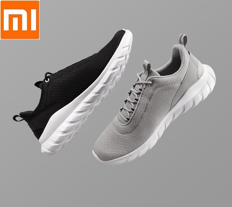 Xiaomi FREETIE Man Sports Lightweight Ventilate Elastic Knitting Shoes Breathable