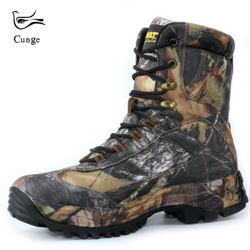 2018 New Army Desert Military Tactical Boots Outdoor Camouflage Hiking Shoes Boots Anti skid Waterproof Lace