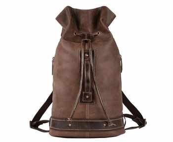 New model cow leather large backpack outdoor travel bag laptop bag for men - DISCOUNT ITEM  0% OFF All Category