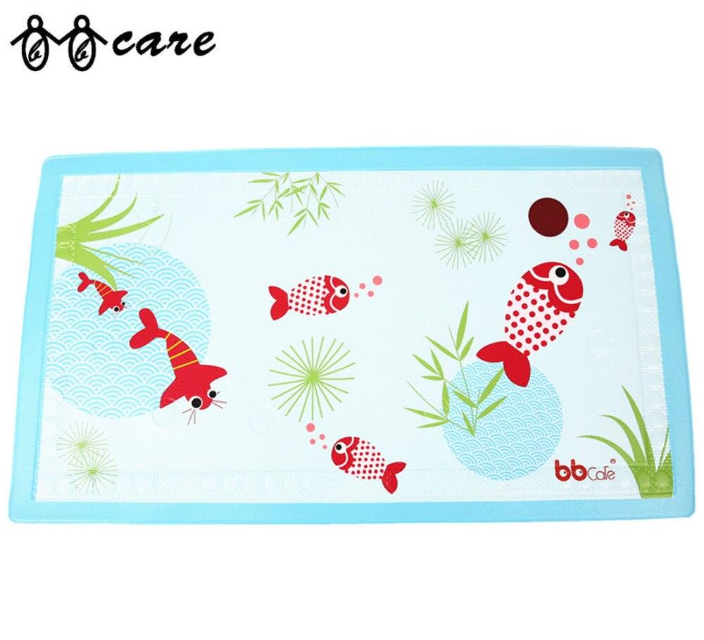 Baby Non-Slip Bath Mat with Heat Sensitive Spot