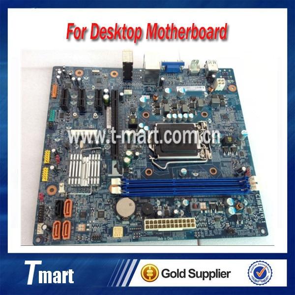 ФОТО 100% working Desktop motherboard for Lenovo H61 CIH61MI System Board fully tested