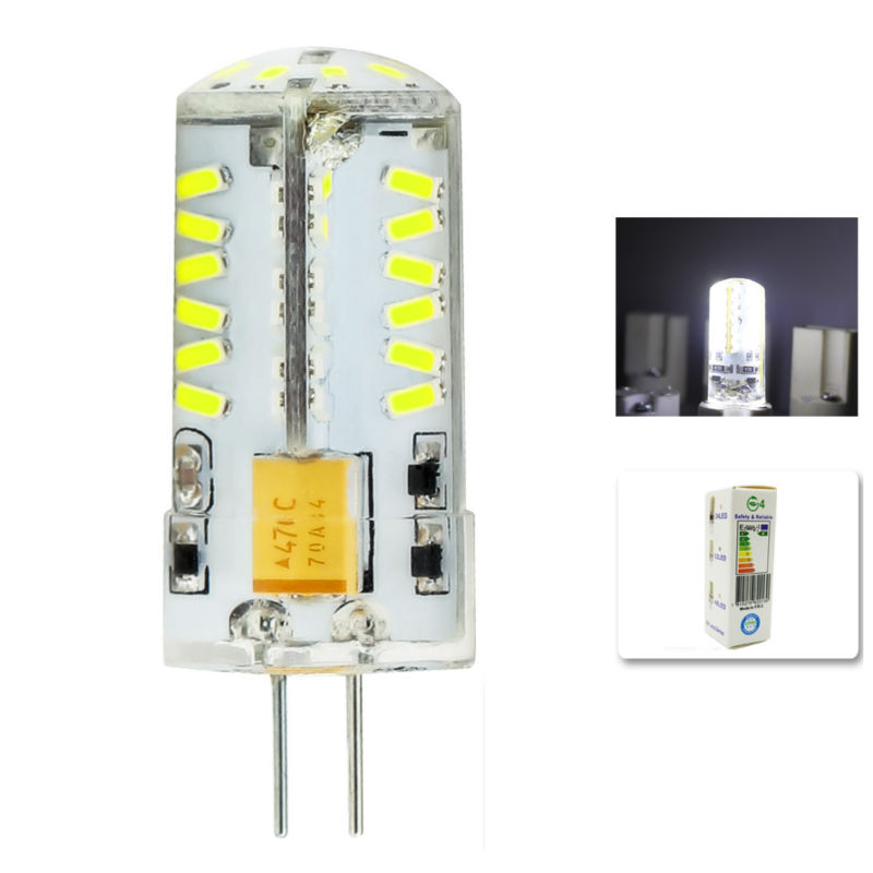 1Pcs/lot 2015 Cree Hot Sale 57LED lamp G4 corn Bulb AC DC12V 8W SMD 3014 LED light 360 degrees Beam Angle spotlight lamps bulb