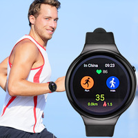 Kaimorui I4plus Bluetooth Smart Watch Android 5 1 OS Smart Watch Electronics Android MTK6580 Quad