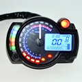 Estilo do carro confiável Backlight LCD Digital Velocímetro Da Motocicleta Motor Bike Tacômetro Odômetro My17 dropshipping
