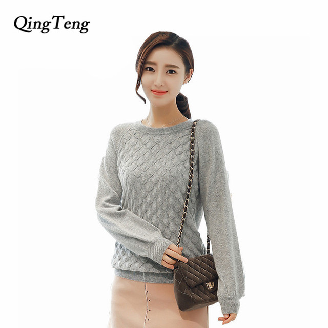 Aliexpress.com : Buy 100% cashmere sweaters and pullover for women ...
