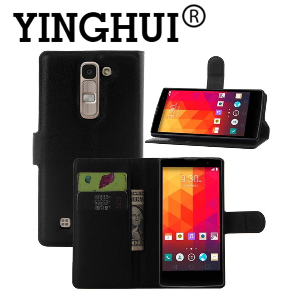 For LG Magna H502F H500F New Litchi Pu Leather Wallet Case For LG G4c H522Y H525N  Phone Cover  Book Style