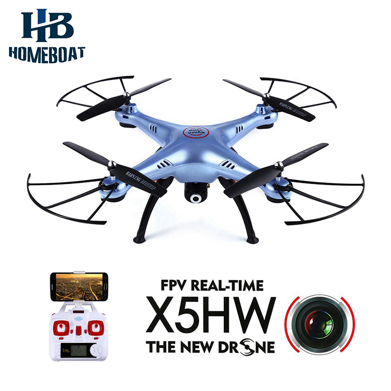 Syma X5HW 2.4G 4CH 6Axis FPV Real Time With 0.3MP Camera RC Quadcopter Syma X5HW WIFI Real-time Helicopter RTF