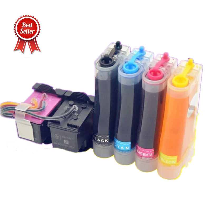 Ink System replacement for <font><b>HP</b></font> 123 Ink Cartridge for Deskjet 1110 2130 2132 2133 2134 3630 3632 3637 3638 4520 4522 <font><b>3639</b></font> image