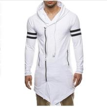 2017 New Fashion Design Men Hoodie Male Streetwear Zipper Men Assassins Creed Hoodies Sweatshirt Long Men's Tracksuit M-XXL