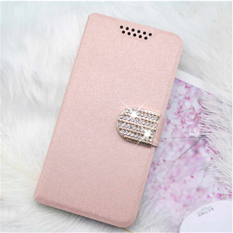 Mewah Leather Case untuk Ulefone Power 2 3L 6 Note 7 P6000 Plus Retro Flip Coque Ponsel Bag Cover Stander Bulkier kasus Fundas