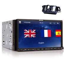 Newest Win-8 GPS Navigation Car Stereo Radio DVD player Digital Touchscreen Bluetooth ready ipod MP3 MP4 FM AM rds US