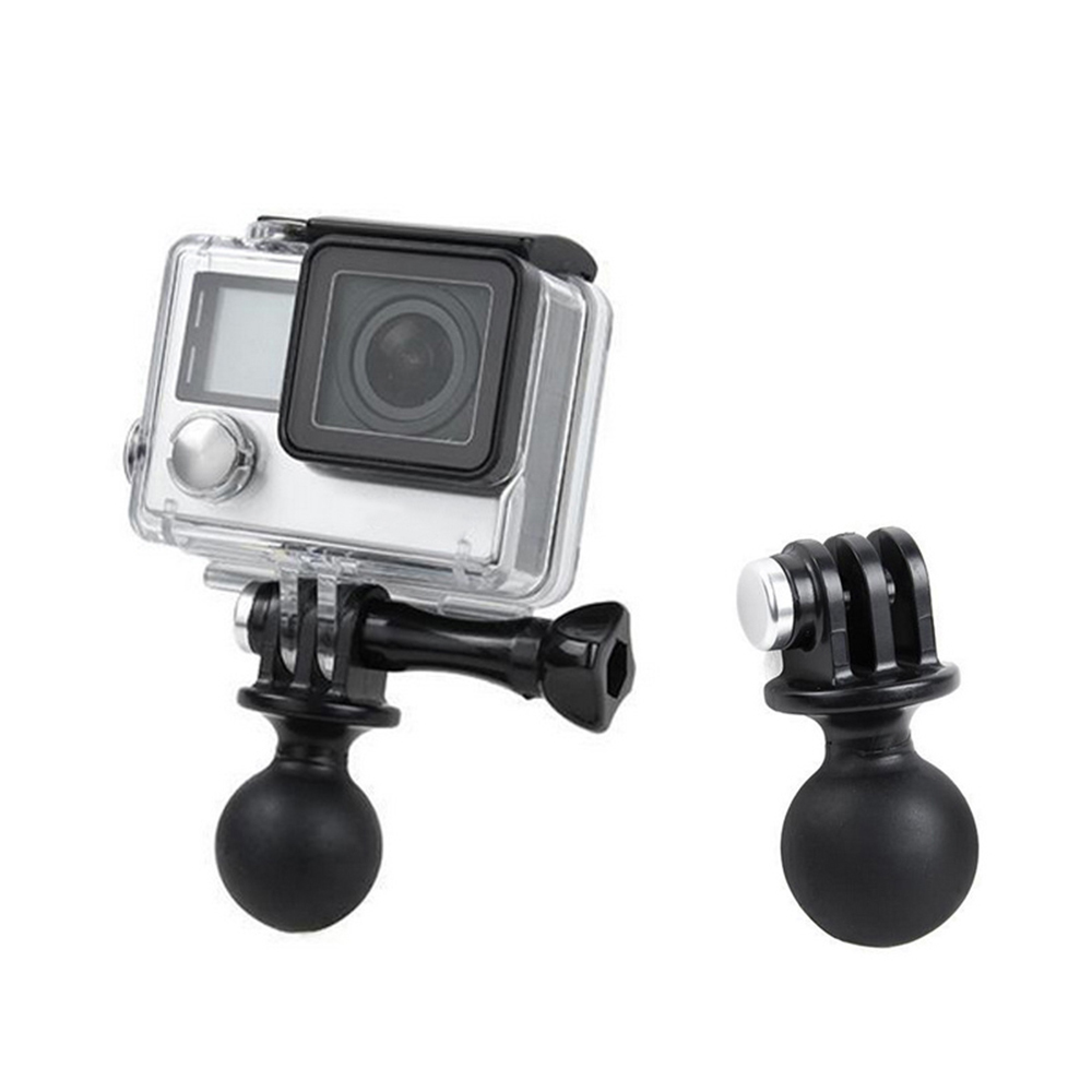 360 Degree Rotation Flexible Mini Mount Tripod Ball Head Adapter For Gopro Hero 2 3 3+ 4 Action Camera Tripod Mount Base Holder