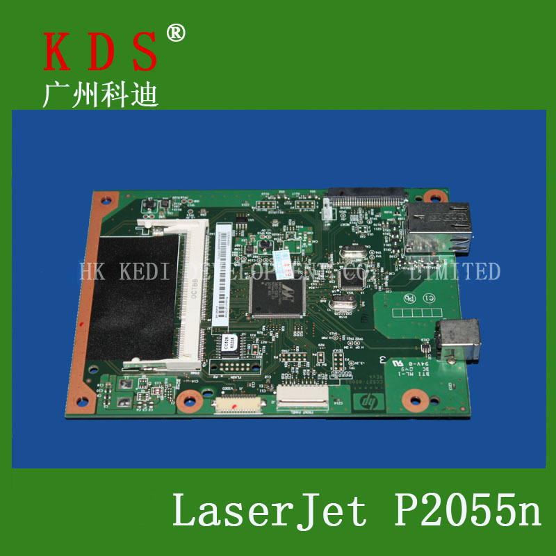 CC528-60001 Logic Board For HP 2055DN Formatter Board Original and New Laser Printer Parts original binding logic board 6870c 0421av1255fhdrowcontolver1 0 logic board