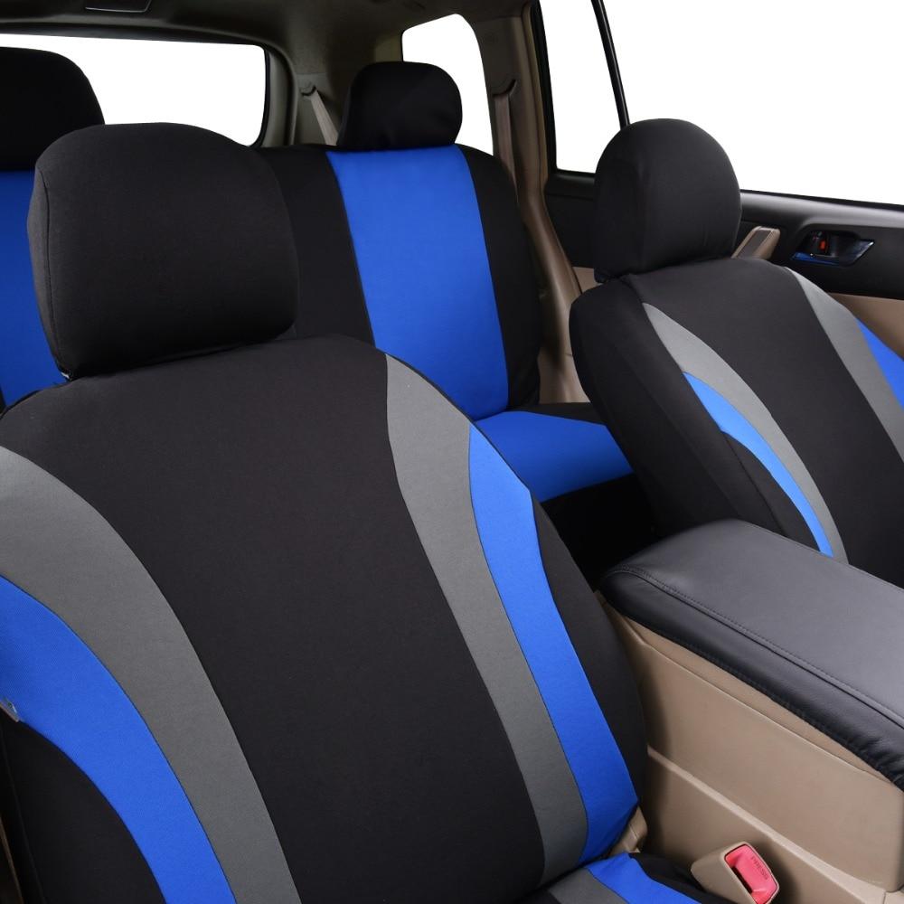Car-pass Uus värvikas spordi seeria autode istmekatete universaalne - Auto salongi tarvikud - Foto 4