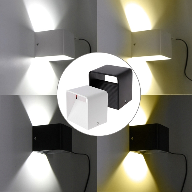 Wall Lamp LED 5W Adjustable Interior Bedroom Headboard Corridor Wall Lamp Light