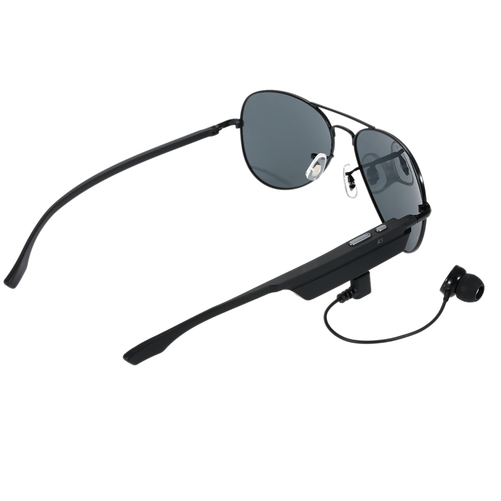 19d831b3bede K3 Bluetooth Headset Sunglasses Polarized Glasses Wireless BT4.1 EDR Music  Earphone Micro USB Hands free w/Mic Outdoor Earphone-in Bluetooth Earphones  ...