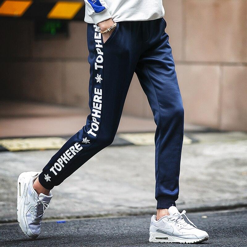 Frühling Casual Men Sweat Pants Männliche Baumwolle Sportswear - Herrenbekleidung - Foto 6