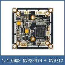 720P AHD Camera Module AHD-1.0MP HD CCTV Camera DIY Main Board 1/4 CMOS NVP2341H + OV9712