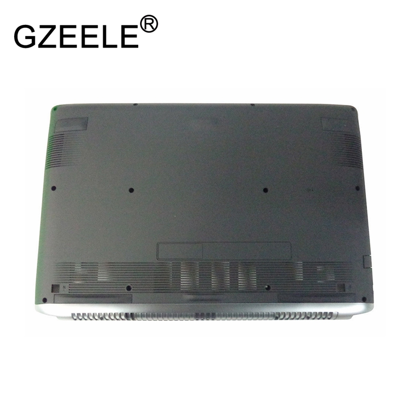 GZEELE New for Acer Aspire V Nitro VN7-593G Lower Bottom base Case cover laptop replace shell 60.Q23N1.002 чехол накладка pulsar clipcase pc soft touch для asus zenfone go zb452kg черная