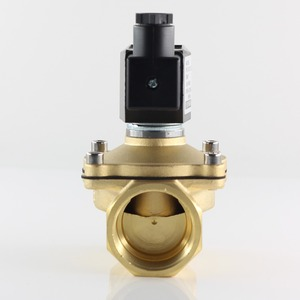 """Image 4 - Normally closed solenoid valve water valve, IP65 fully enclosed coil, AC220V DC12V DC24V, G3/8"""" G1/2"""" G3/4"""" G1"""" G1 1/4"""" G1 1/2"""""""