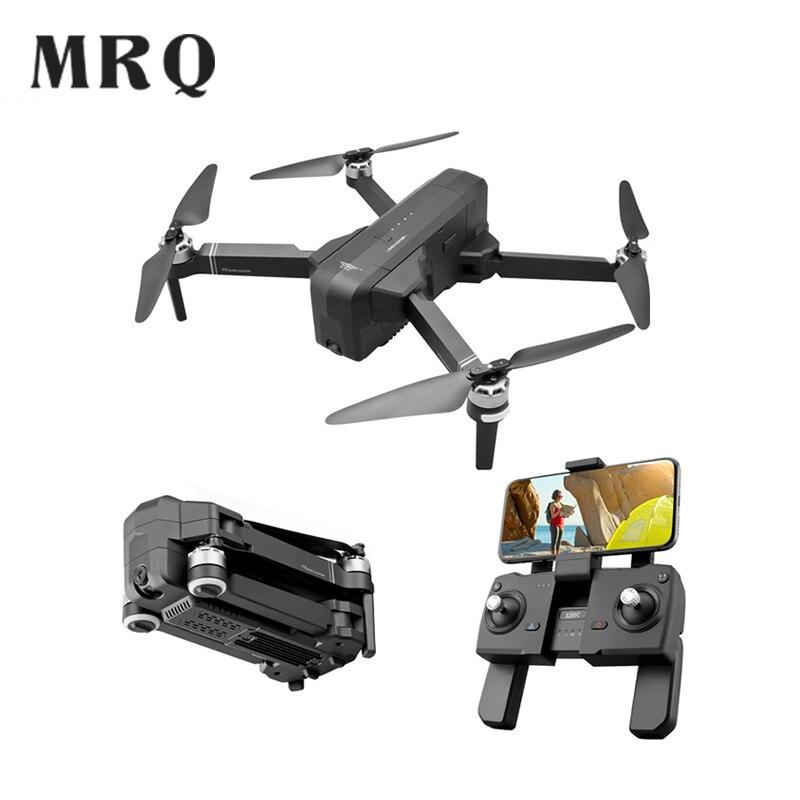 Professionnel PRO GPS Drone WiFi FPV avec caméra HD F11 sans brosse quadrirotor pliable hélicoptère geste pliable Selfie RC Dron