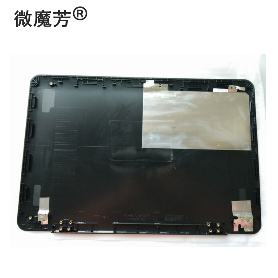 New Laptop Top LCD Back Cover for ASUS K555L V555L FL5800L A555L X555L VM590L X555LA F555LA F555UA F554LA K555LD X555LI X555LJ new sunon cooling fan for asus x455cc k555 w419l w519l r556l r557l y583l k555l vm590l x555lj x554l x554ld cpu laptop fan