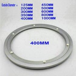 H H400 خارج ضياء 400 ملليمتر (16 بوصة) هادئ وسلس الصلبة الألومنيوم كسلان سوزان الدوار قاعدة