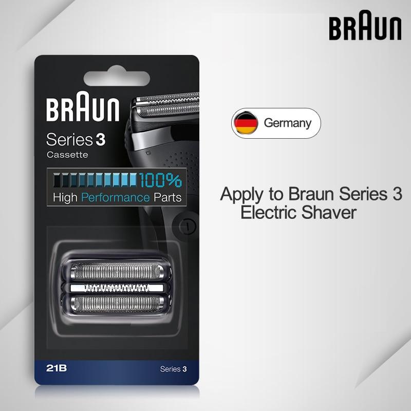 Braun 21B máquina de afeitar eléctrica de la hoja de afeitar Serie 3 ... 805815e33b32