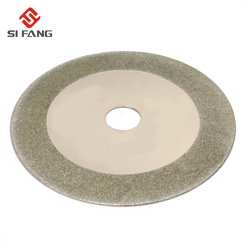 125mm 5'' Diamond Circular Saw Blade Electroplated Cutting Disc Grinding Wheel For Jade Glass PVC Pipe