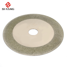 125mm 5'' Diamond Circular Saw Blade Electroplated Cutting Disc Grinding Wheel For Jade Glass PVC Pipe недорого