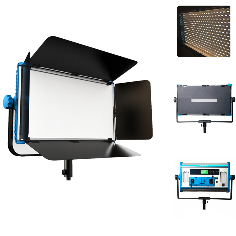 Yidoblo RGB LED Panel Photography Light with Wireless Remote and APP Control LED LCD Display Lamp for Photo Studio Accessories