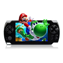 """4.3"""" Portable Handheld Game Console 8GB 32Bit 100 Childhood Classic Games Built-In Video Game Player 0.3MP Camera MP3 MP5"""