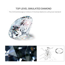 BFQ S925 Sterling Silver Earrings Fashion Temperament Simple Three Claw Micro Embedded AAA Zircon Stud Earrings