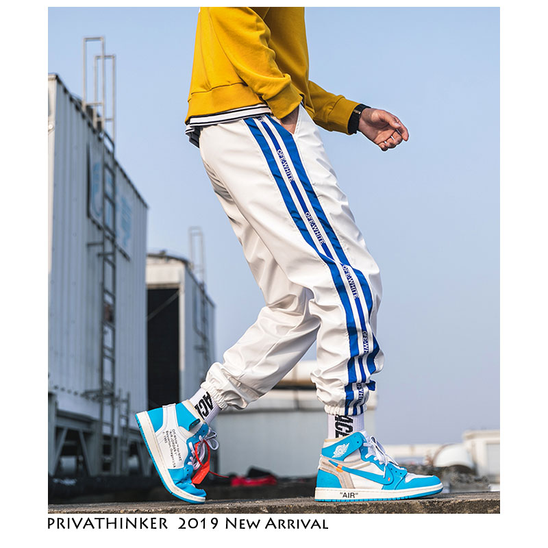 Privathinker Streetwear Joggers Pants Men Track Pants 2019 Mens Hip Hop Sweatpants Male Aesthetic Black Korean Fashion Trousers