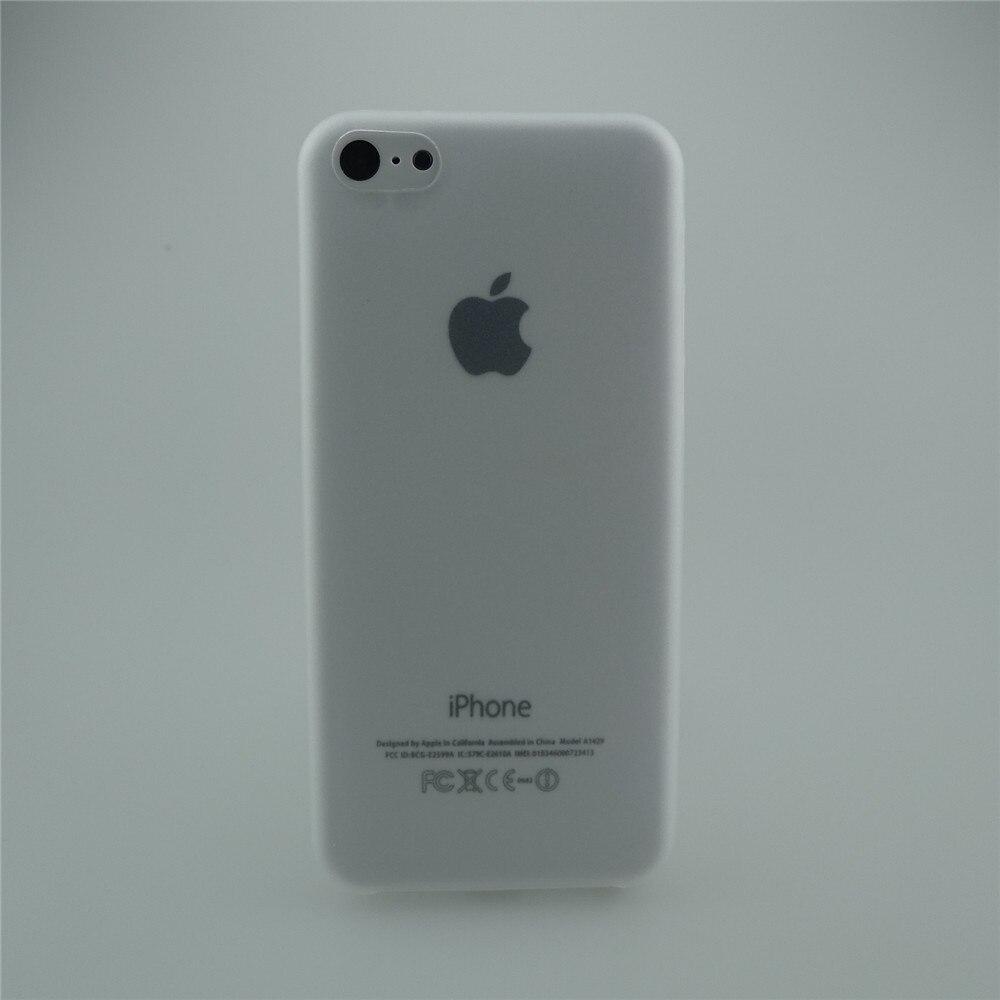 Лидер продаж 0.3 мм ультра тонкий Ясно Матовая Мягкая задняя крышка чехол кожи для Apple I Телефон iPhone 5C iPhone5c Бесплатная доставка