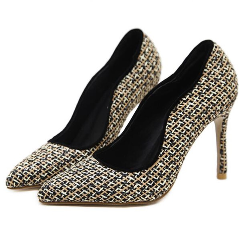 HiHopGirls 2018 Hot Spring women party Pointed toe Mesh Bling high heels shoes woman Sexy Female zapatos mujer stiletto Pumps choudory high heels woman pumps spring autumn flower decoration woman shoes attractive flock pointed toe party zapatos mujer