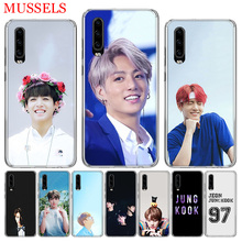 Jungkook Kpop Popular Gift Phone Case for Huawei P30 P20 Mate 20 10 Pro P10 Lite P Smart + Plus 2019 Customized Cover Capa Coque