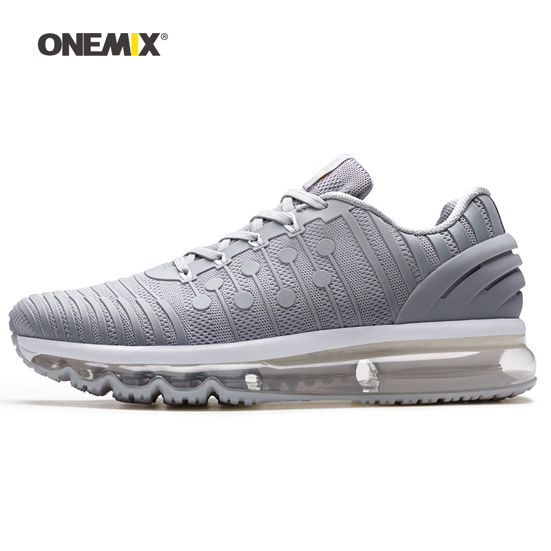 Man Running Shoes For Men Air Sole Athletic Trainers Zapatillas Gray Fitness Sports Sneakers Basketball Outdoor