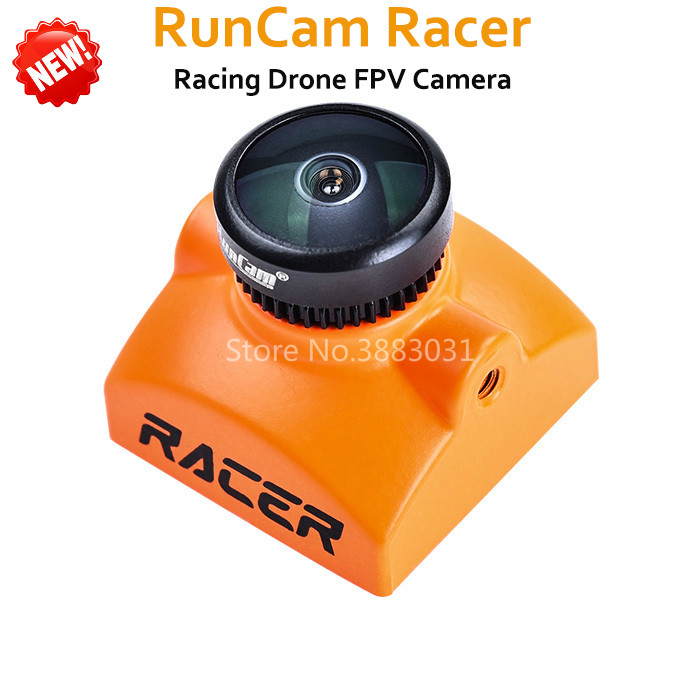 Новый RunCam Racer FPV Камера 700TVL Супер WDR CMOS Сенсор 2,1 мм M8 объектив интегрированы OSD NTSC/PAL DC5-36V для FPV Racing Drone