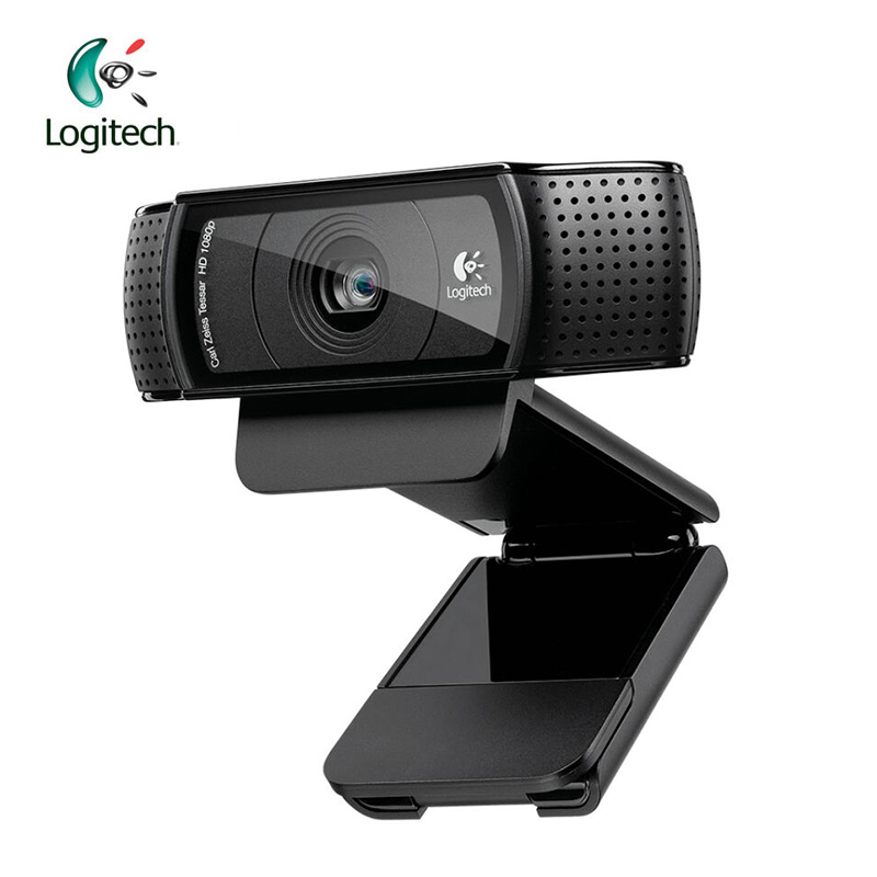 Logitech C920 Pro HD 1280 P Webcam Registrazione Video con 15 Milioni Di Pixel CMOS 30FPS per Windows 10/8/7 Supporto Test Ufficiale