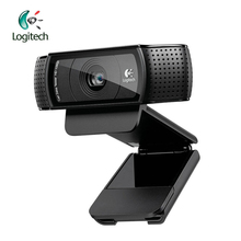 Logitech Pro C920 HD 1280P Webcam Video Recording with 15 Million Pixels CMOS 30FPS for Windows 10/8/7 Support Official Test