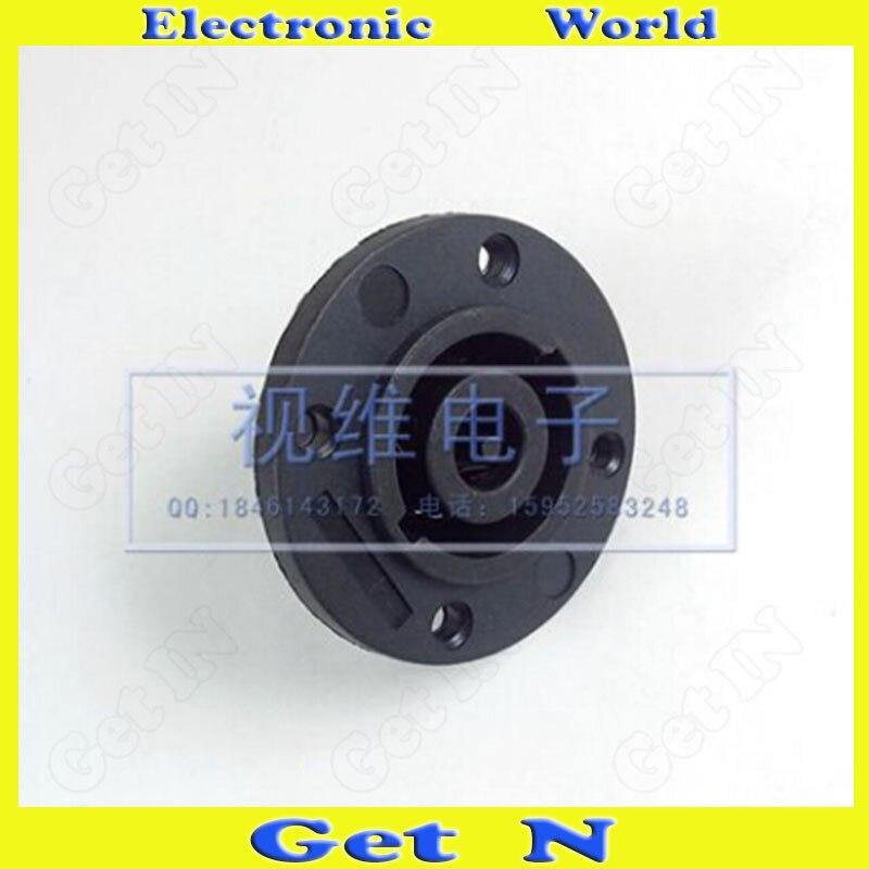 10pcs 8-Pole Round Loud Speaker Socket Jack for Large Professional Stage Sound Boxes 8-Pole Round Ohm Loudspeaker Socket