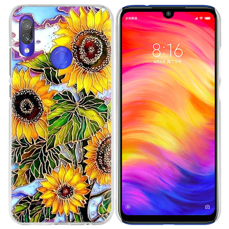 Чехол Ван Гога с ромашками для Xiao mi Red mi Go Note 7 6 6A Pro S2 5 5A 4X mi A1 A2 9 mi x 3 5G 8 lite Play F1 жесткий чехол для телефона из ПК